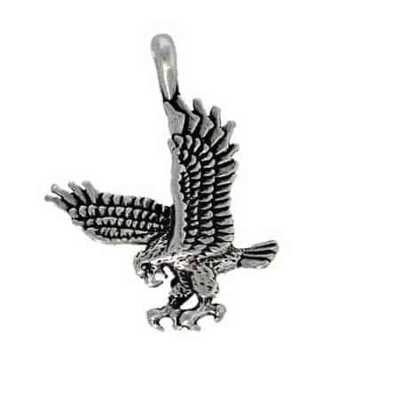Eagle-diving-charm