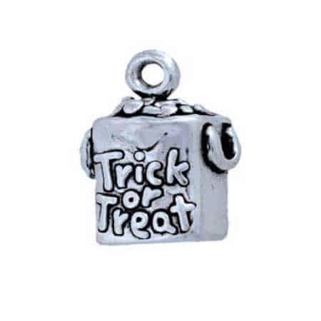 Halloween Trick or Treat Bag Charm