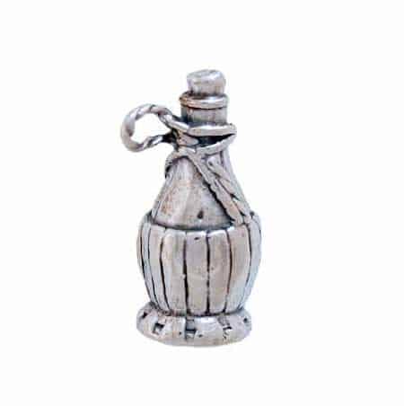 Chianti Wine Bottle Charm