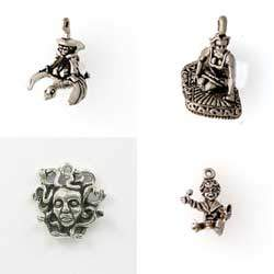 Sterling Silver Elemental Story Tale & Myth Charm for that Special Occasion