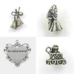 Sterling Silver Wedding Charms for that Special Occasion