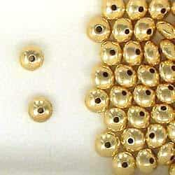 14K Gold Filled 7mm Rondelle Spacer Beads