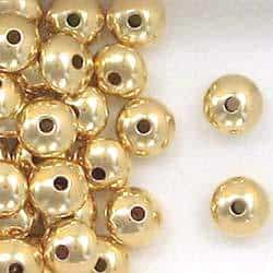14K Gold Filled 8mm Rondelle Spacer Beads