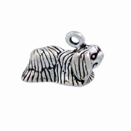 Pekinese Dog Charm