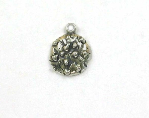 Sterling Silver 3-D Chocolate Chip Cookie Charm