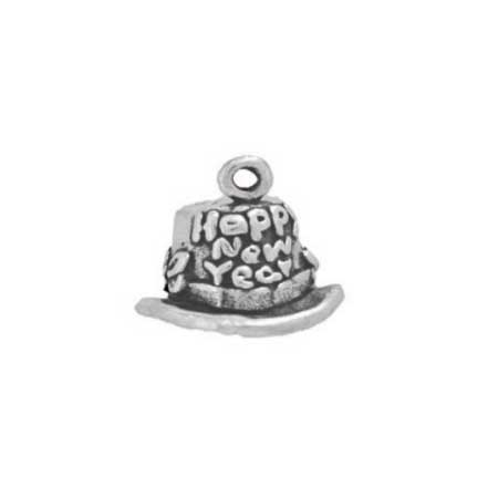 Happy New Year Top Hat Charm