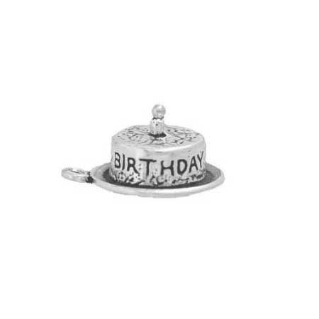 Cake with One Candle Charm