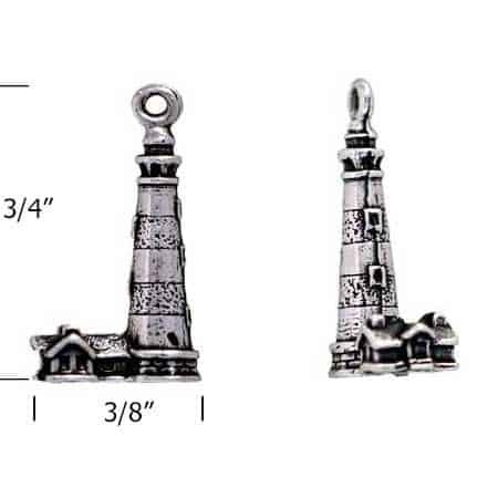 Bodie-Island-lighthouse-charm-measurement