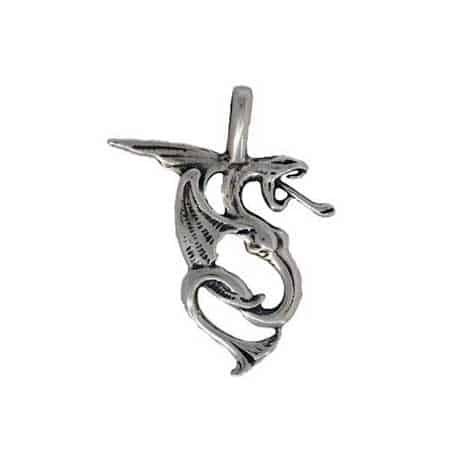 Dragon-Pendant-silver-charm-450