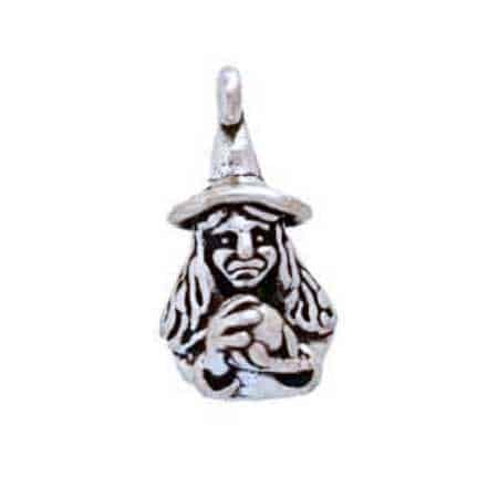 Witch & Crystal Ball Charm