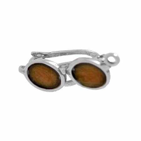 Movable Enameled Sunglasses charm