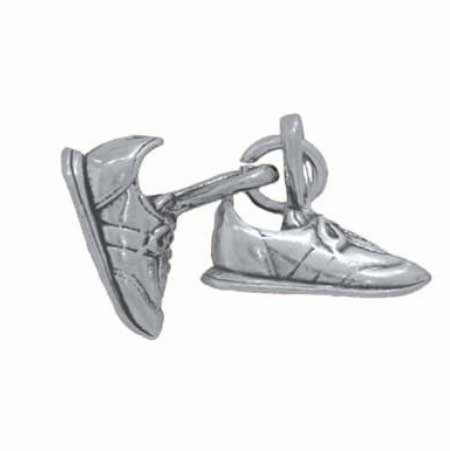 Movable Pair of Sneakers Charm