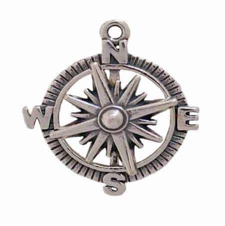 compass-charm