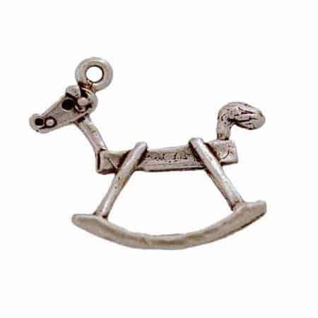 Fancy Rocking Horse Charm