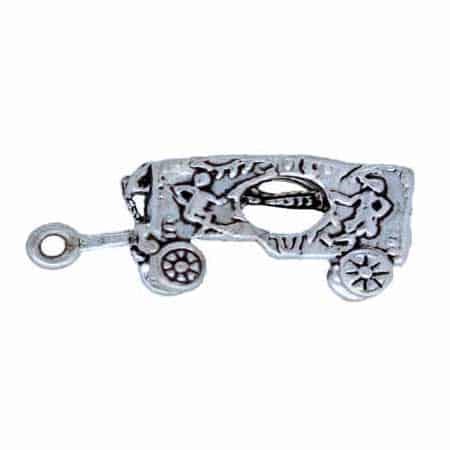 Calliope Wagon Charm