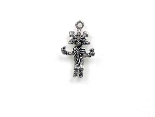 Sterling Silver 3-D Butterfly Kachina Charm