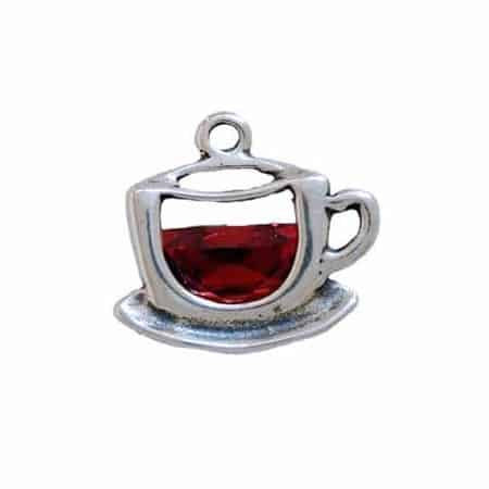 CZ Cup of Tea Charm