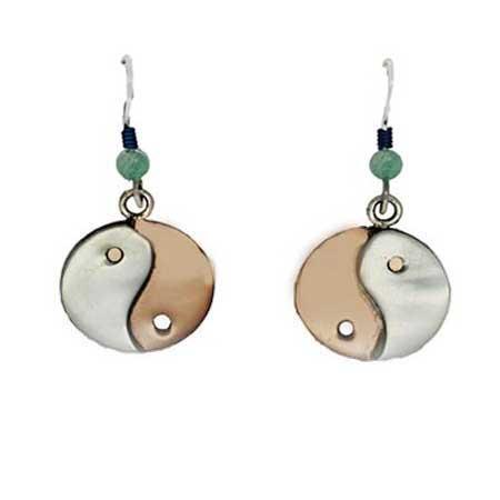 Yin Yang Dangle Earrings