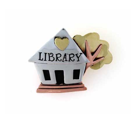 luv my library Pin