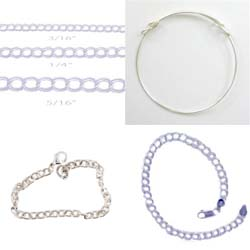 Sterling Silver Bracelets, Euro Bracelet and Italian Chains