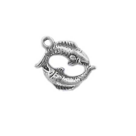Pisces Sign of the Zodiac Charm