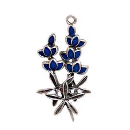 enameled-blue-bonnet-flowers-charm