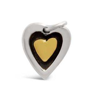 far fetched classic heart pendant