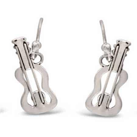 guitar dangle earrings far fetched