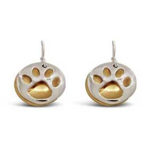 paw print earrings far fetched