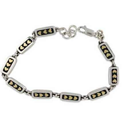 triple hearts bracelet far fetched