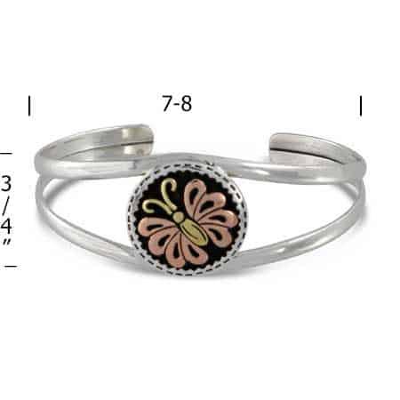 Butterfly-Cuff-Bracelet-measurement