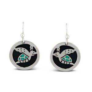 turtle-cutout-dangle-earrings far fetched