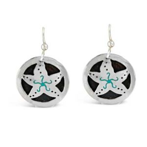 Starfish Cutout Dangle Earrings far fetched
