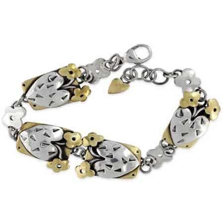 blooming heart bracelet far fetched