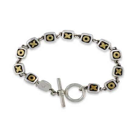 hug kisses toggle bracelet far fetched