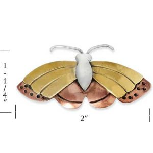 monarch butterfly pin measure far fetched
