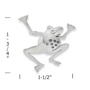 Lone Toad Boogie Pin measurement