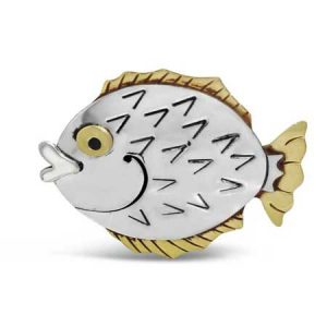 Blow Fish Pin far fetch