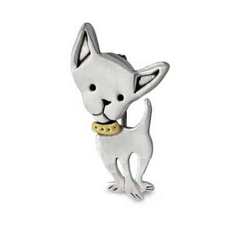 chihuahua dog pin far fetched
