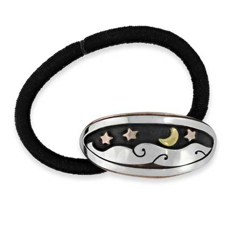 Moon River Ponytail Holder far fetched jewelry