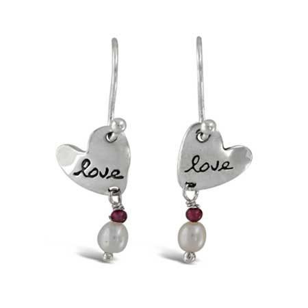 Love Gemstone Earrings