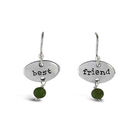 Best Friend Gemstone Earrings