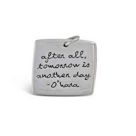 after all tomorrow is another day pendant