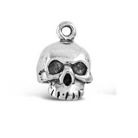 Skull Missing Jaw Charm