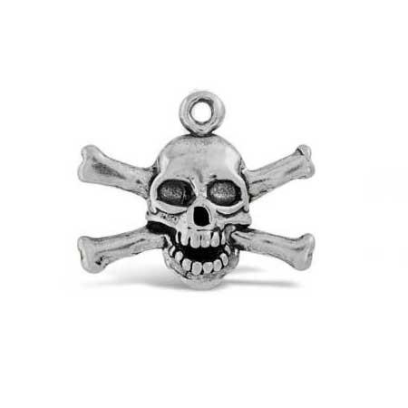 Skull & Bones Charm